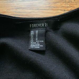 Forever 21 Dresses - Forever 21 - Low Back Scoop Neck Fitted Dress